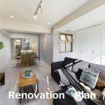 リノベーションマンション キッチン