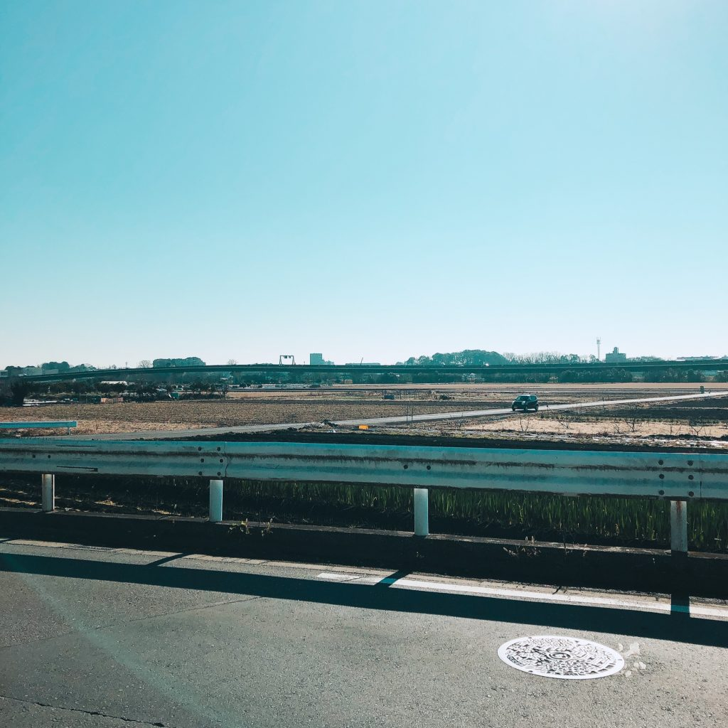 見沼区中川の景色