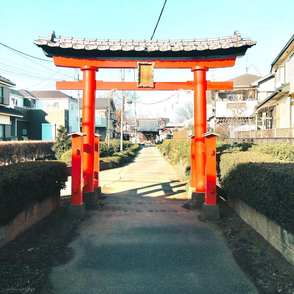 見沼区中川 諏訪神社