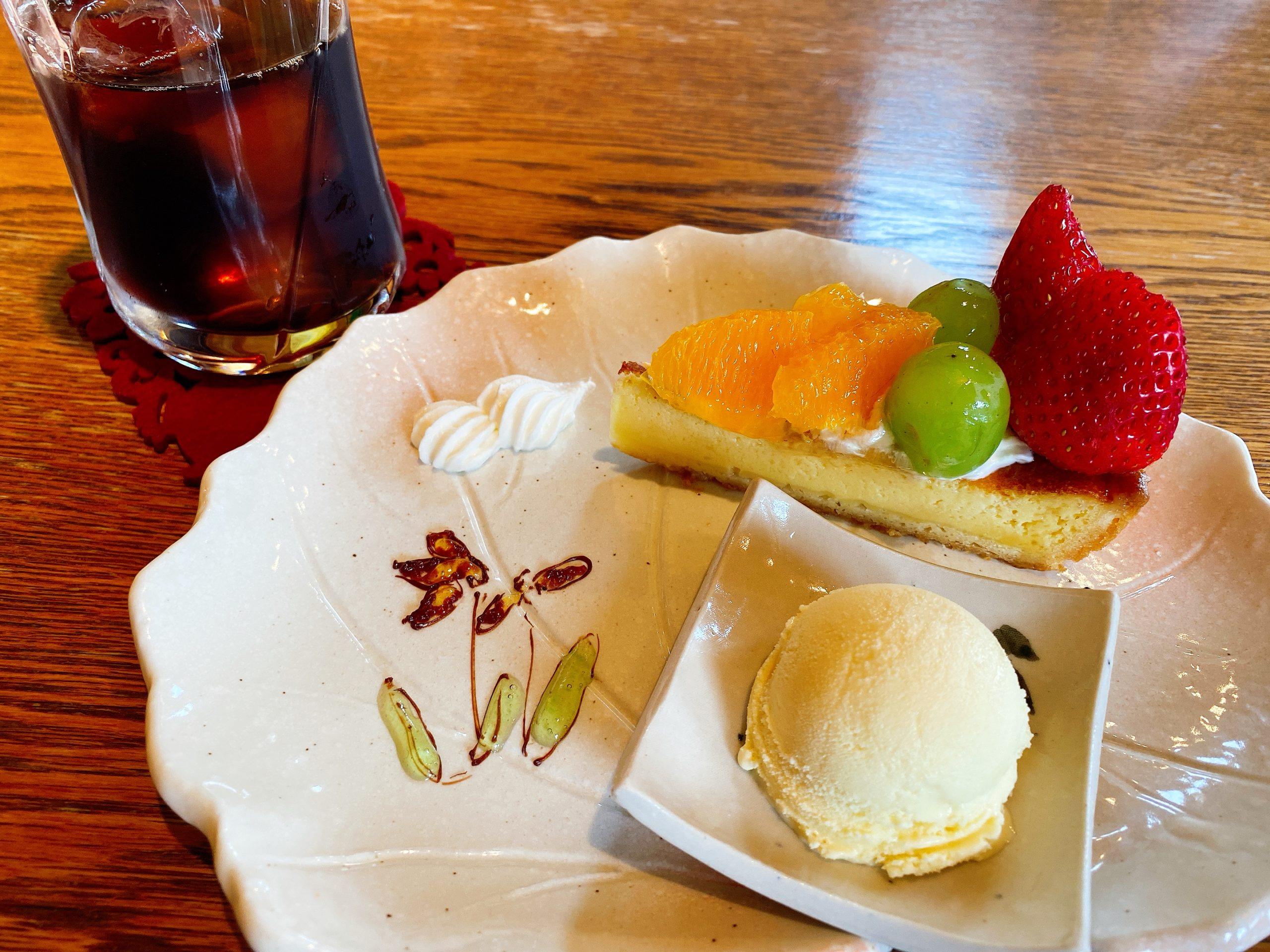 見沼区堀崎町 ポンム ケーキ カフェ スイーツ ランチ