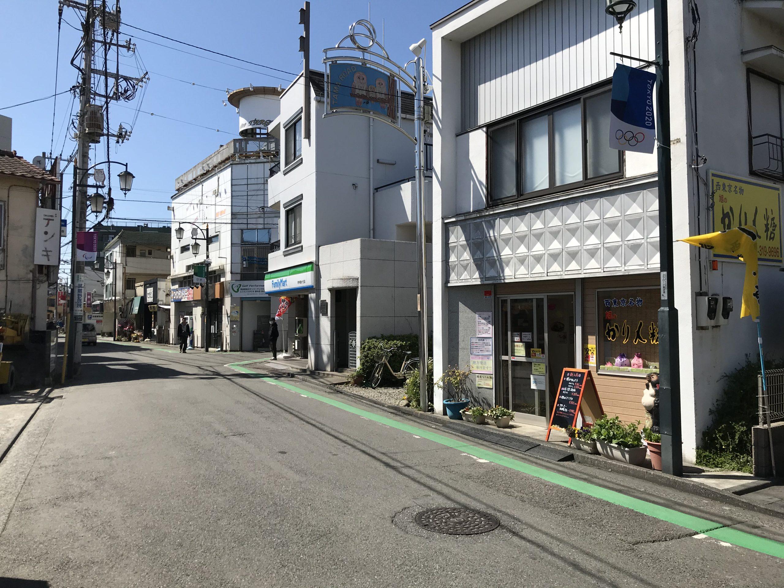 東郷寺通り