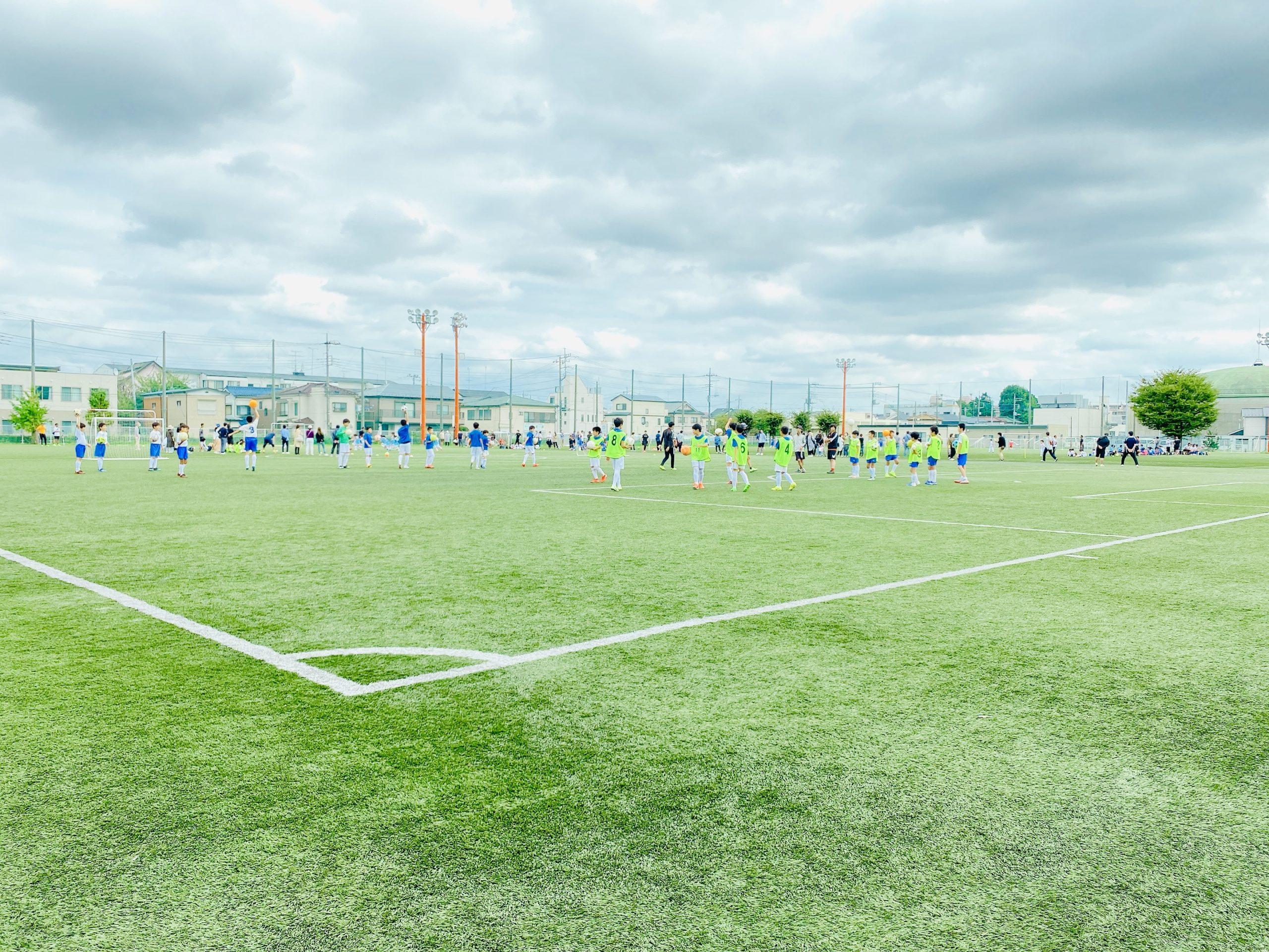 中央区八王子 与野八王子サッカーグラウンド