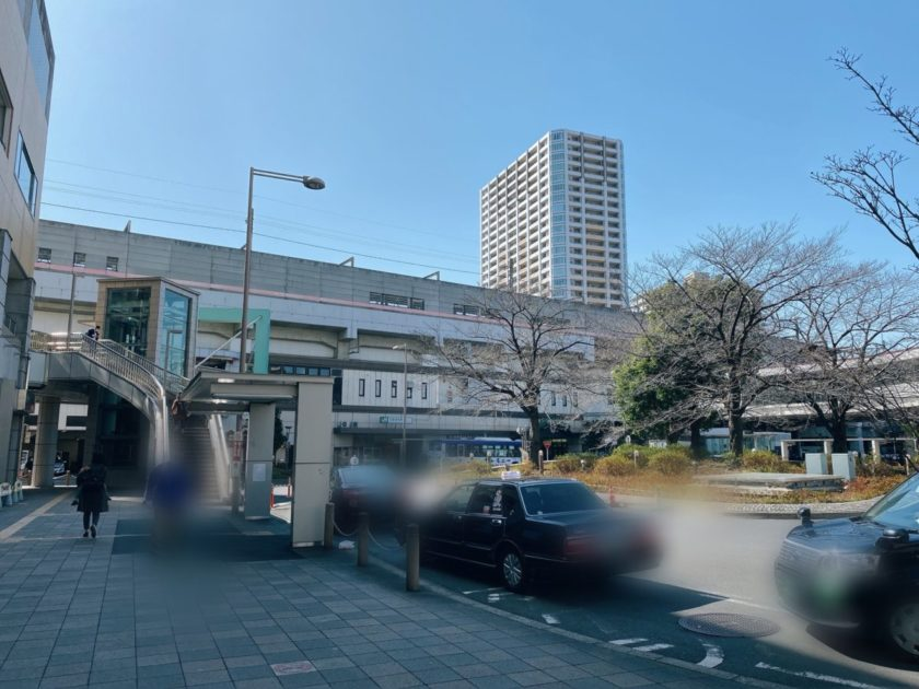 JR武蔵浦和駅前ロータリー
