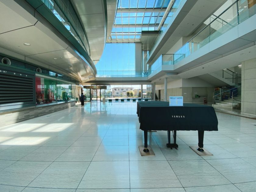 緑区中尾 プラザイースト ストリートピアノ